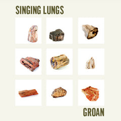 SINGING LUNGS - groan - BRAND NEW CASSETTE TAPE
