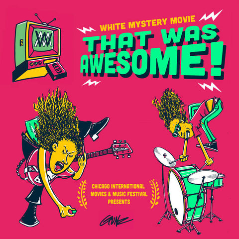 WHITE MYSTERY - that was awesome - BRAND NEW CASSETTE TAPE