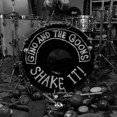 GINO AND THE GOONS - shake it! - BRAND NEW CASSETTE TAPE