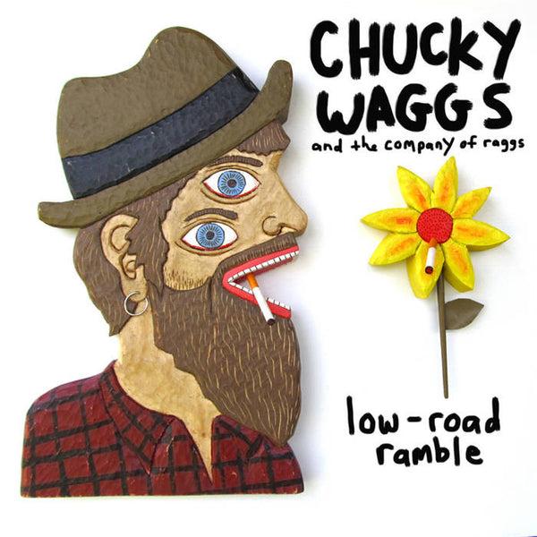 CHUCKY WAGGS & THE COMPANY OF RAGGS - low road ramble - BRAND NEW CASSETTE TAPE