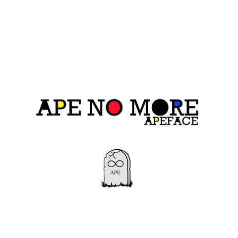 APEFACE - ape no more - BRAND NEW CASSETTE TAPE
