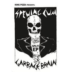 GARBAGE BRAIN / SPEWING CUM - split tape - BRAND NEW CASSETTE TAPE