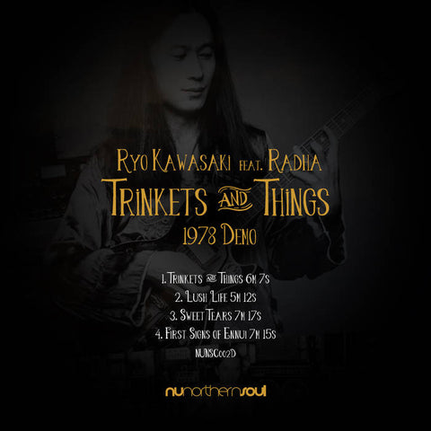 RYO KAWASAKI - trinkets & things 1978 demo - BRAND NEW CASSETTE TAPE