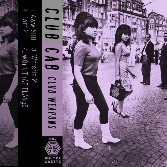 CLUB CAB - club weapons - BRAND NEW CASSETTE TAPE