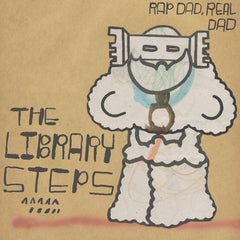 THE LIBRARY STEPS - rap dad, real dad - BRAND NEW CASSETTE TAPE
