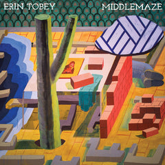 ERIN TOBEY - middlemaze - BRAND NEW CASSETTE TAPE