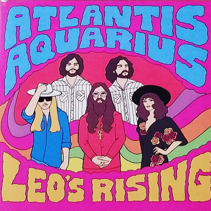 ATLANTIS AQUARIUS - leo's rising - BRAND NEW CASSETTE TAPE