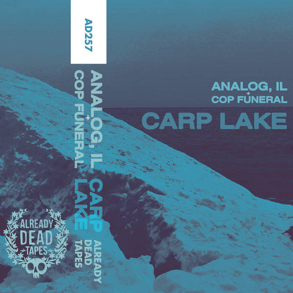 ANALOG, IL + COP FUNERAL - Carp Lake - BRAND NEW CASSETTE TAPE