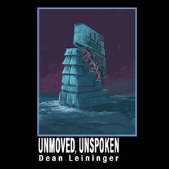 DEAN LEININGER - unmoved unspoken - BRAND NEW CASSETTE TAPE