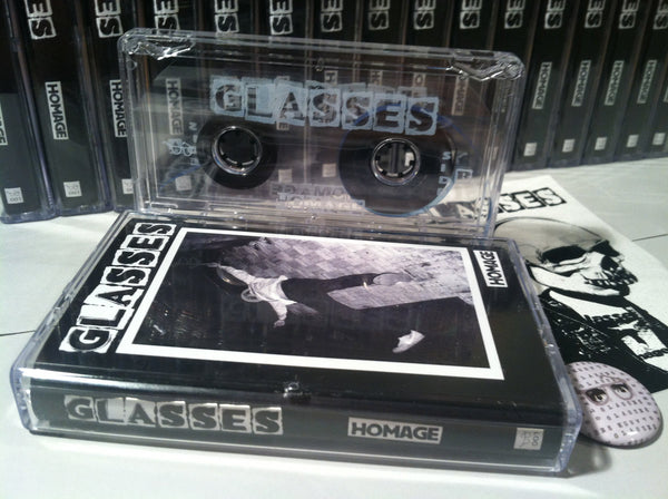 GLASSES - homage - BRAND NEW CASSETTE TAPE [SALE]