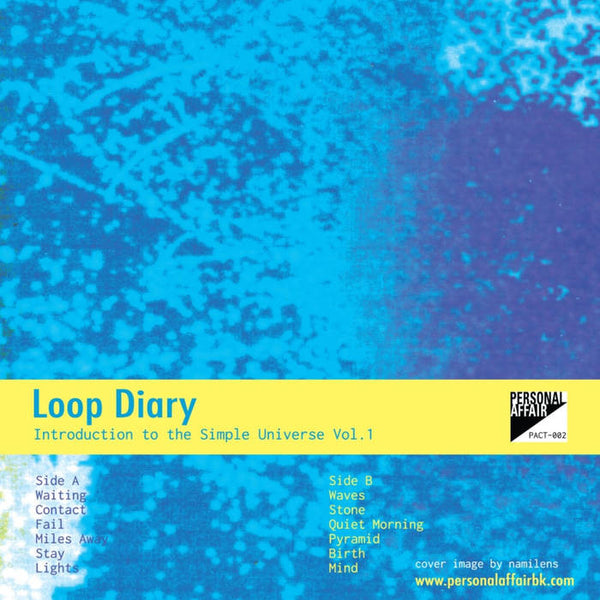 LOOP DIARY - introduction to the simple universe Vo. 1 - CSD (oct 8 2016)