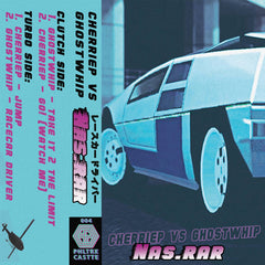 CHERRIEP VS GHOSTWHIP - NAS.RAR - BRAND NEW CASSETTE TAPE