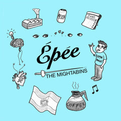 THE MIGHTABINS - Épée - BRAND NEW CASSETTE TAPE - CSD2018