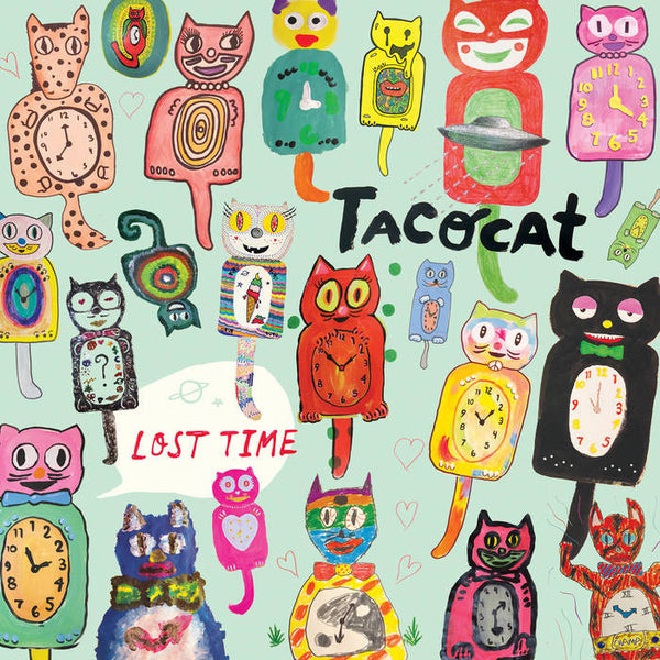 TACOCAT - lost time - BRAND NEW CASSETTE TAPE