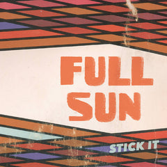 FULL SUN - stick it EP - BRAND NEW CASSETTE TAPE