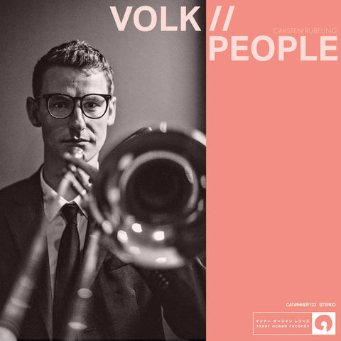 CARSTEN RUBELING - volk//people - BRAND NEW CASSETTE TAPE