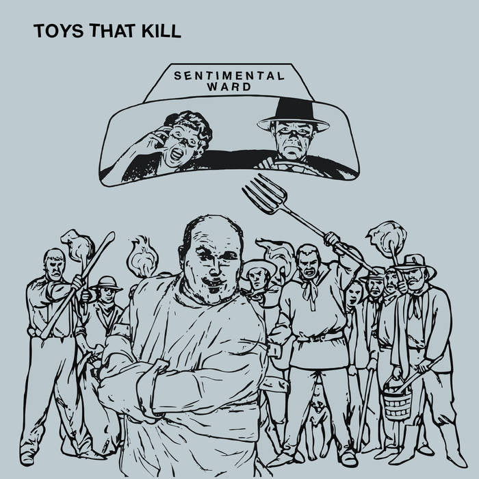 TOYS THAT KILL - sentimental ward - BRAND NEW CASSETTE TAPE
