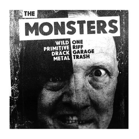 "THE MONSTERS - ""I'm a Stranger to Me"" EP - BRAND NEW CASSETTE TAPE"
