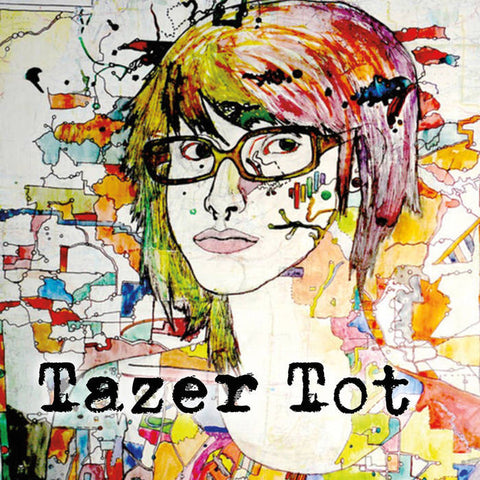 TAZER TOT - born in outer space - BRAND NEW CASSETTE TAPE