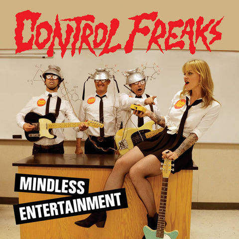 "CONTROL FREAKS ""Mindless Entertainment"" - BRAND NEW CASSETTE TAPE"