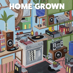HOME GROWN - compilation - BRAND NEW CASSETTE TAPE