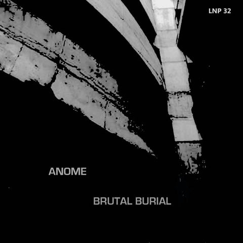 ANOME - brutal burial - BRAND NEW CASSETTE TAPE