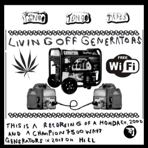 LIVING OFF GENERATORS - BRAND NEW CASSETTE TAPE