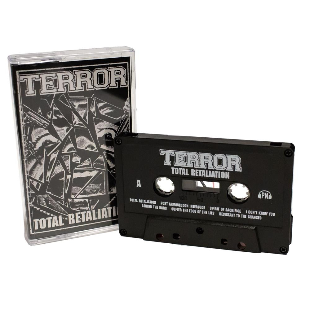 TERROR - total retaliation - BRAND NEW CASSETTE TAPE