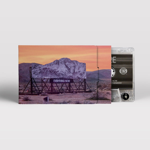 ARCADE FIRE - everything now - BRAND NEW CASSETTE TAPE