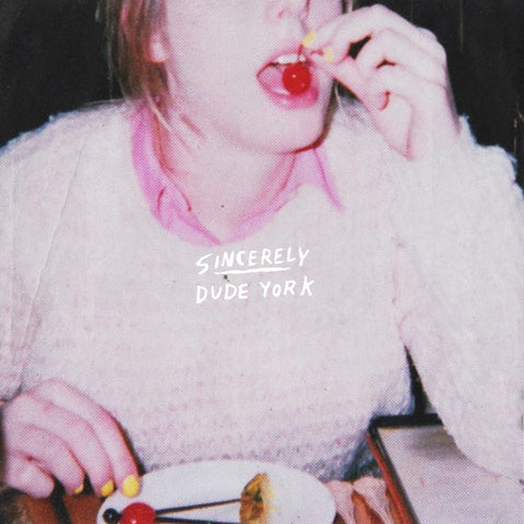 DUDE YORK - sincerely - BRAND NEW CASSETTE TAPE
