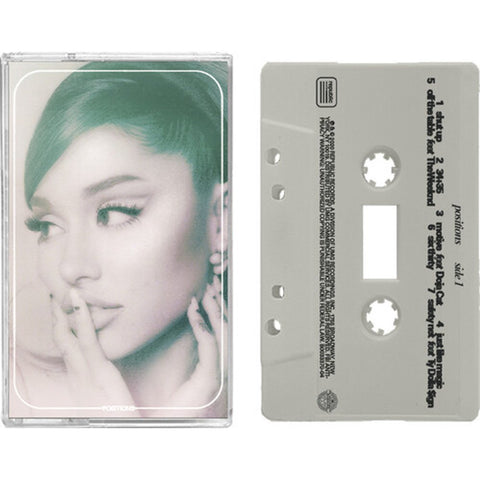 ARIANA GRANDE - positions - BRAND NEW CASSETTE TAPE