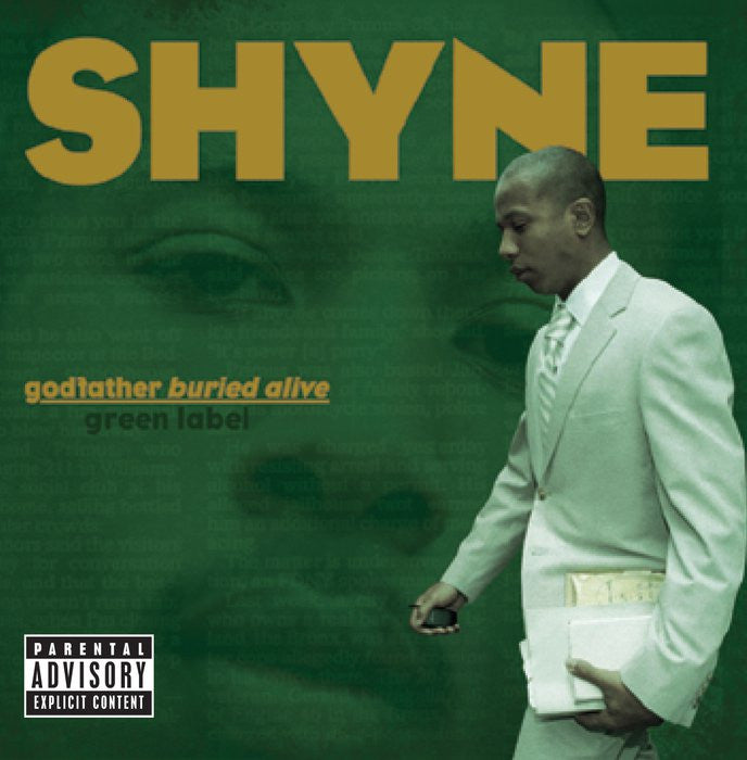 SHYNE - godfather buried alive - BRAND NEW SEALED CASSETTE TAPE