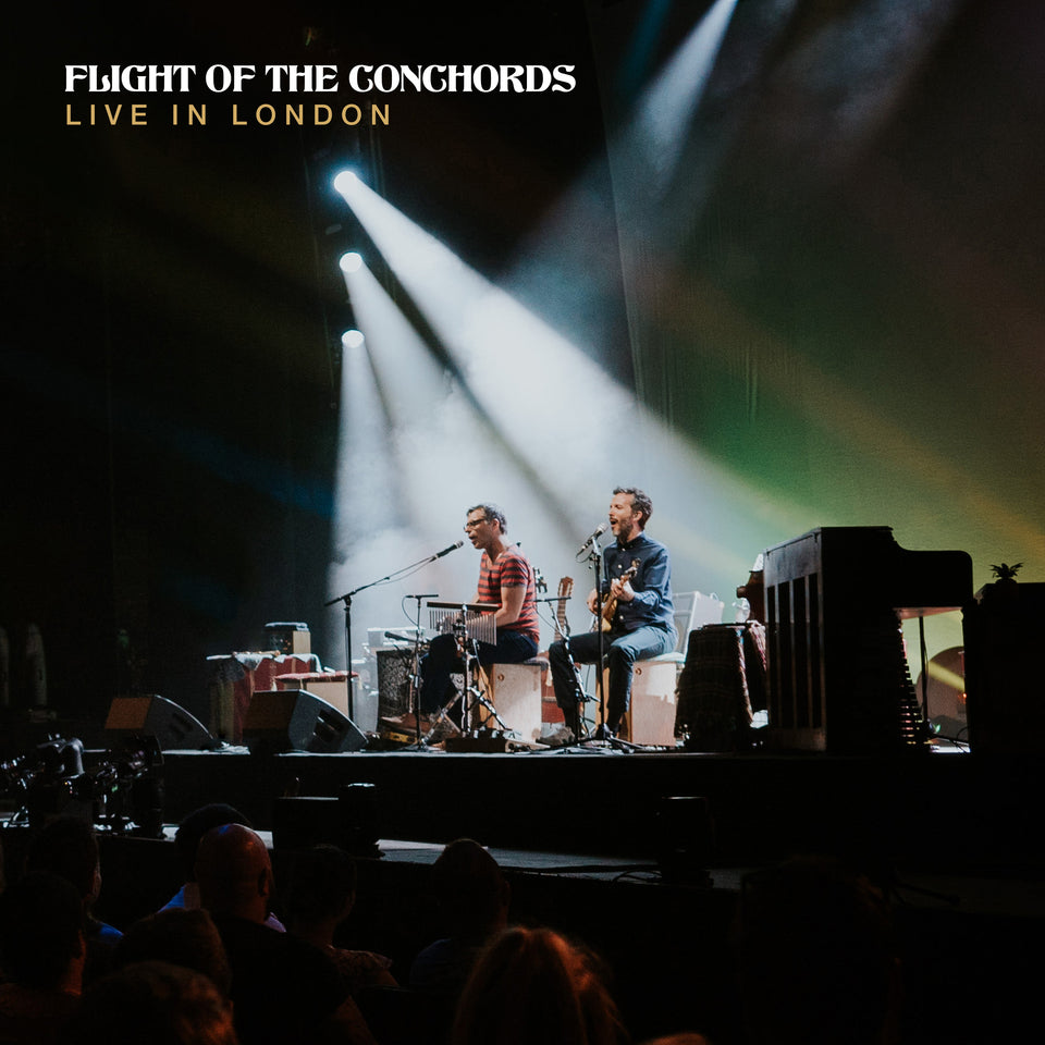 FLIGHT OF THE CONCHORDS - live in london - BRAND NEW CASSETTE TAPE