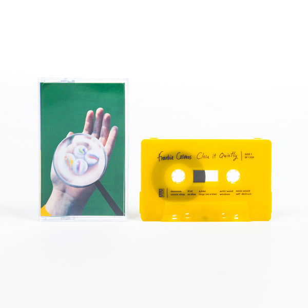 FRANKIE COSMOS - close it quietly - BRAND NEW CASSETTE TAPE