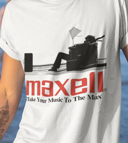 MAXELL T-SHIRT - BRAND NEW