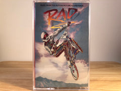 RAD - soundtrack - BRAND NEW CASSETTE TAPE