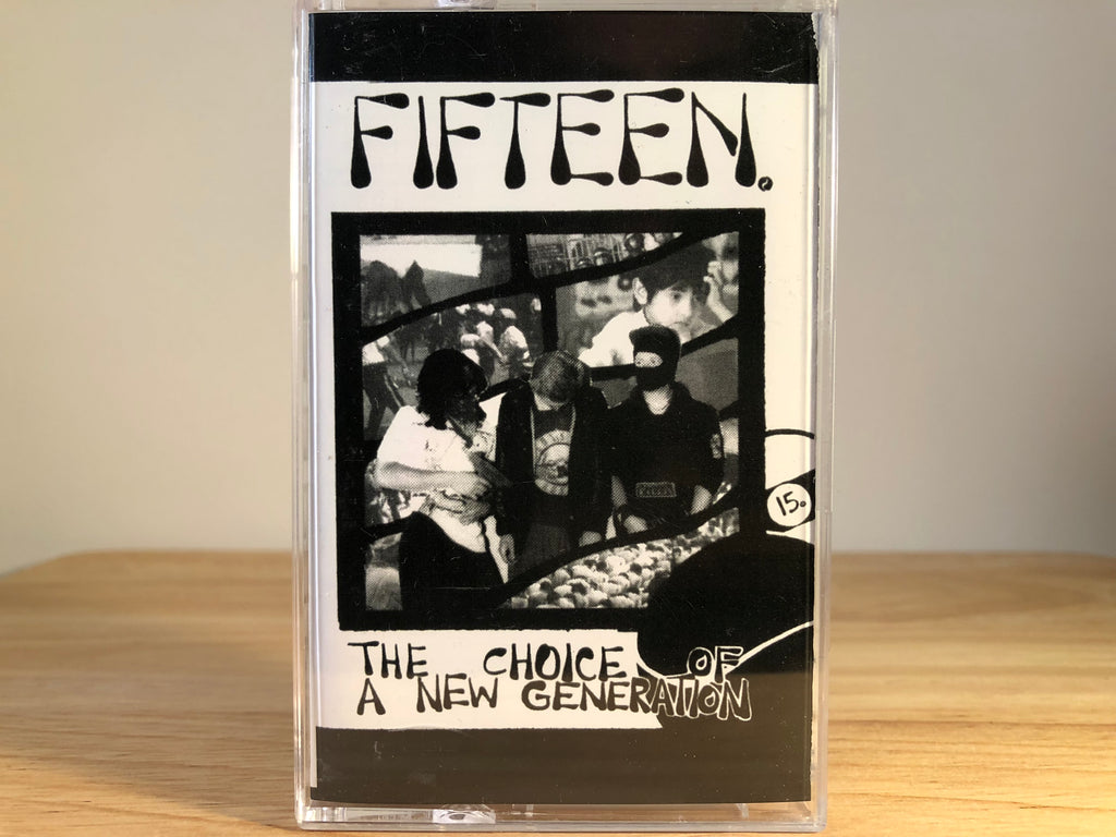 FIFTEEN - the choice of a new generation - BRAND NEW CASSETTE TAPE