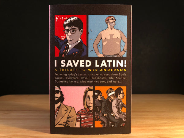 I SAVED LATIN! - A Wes Anderson Tribute - CASSETTE TAPE  (includes free Max Fischer card)