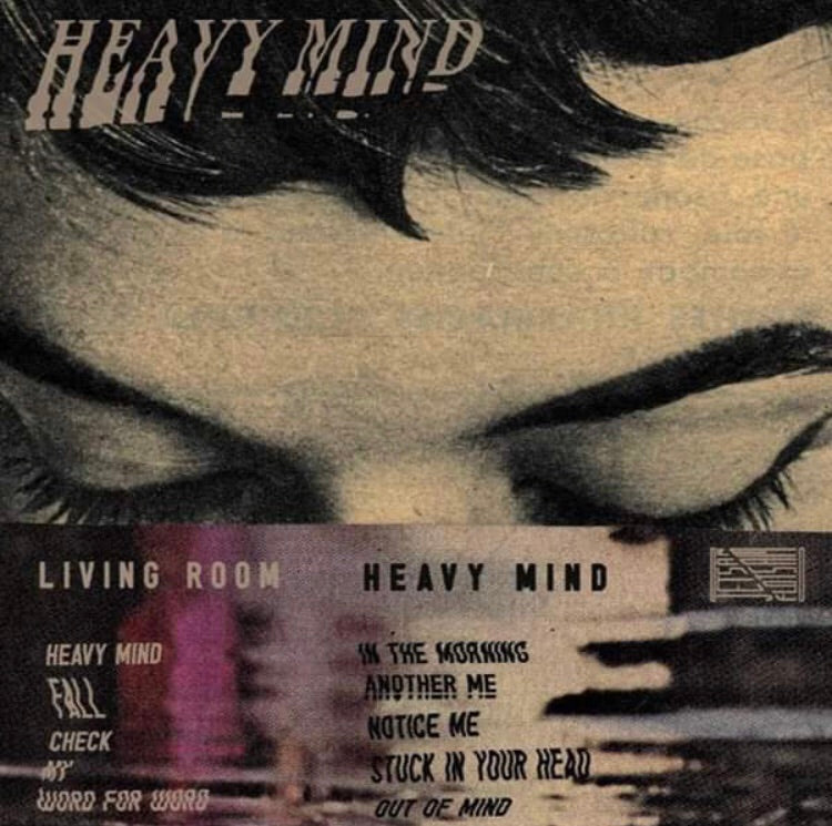 LIVING ROOM - Heavy Mind - BRAND NEW CASSETTE TAPE