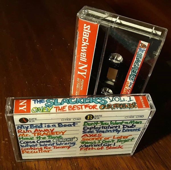 THE SLACKERS - only the best for our friends Vol.1 - BRAND NEW CASSETTE TAPE - CSD2019