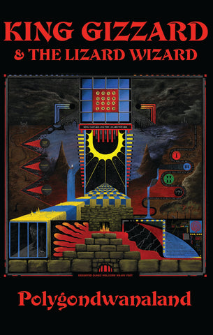 King Gizzard And The Lizard Wizard ‎- Polygondwanaland - brand new cassette tape [pre-order]