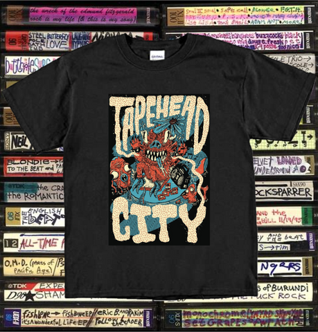 Tapehead City - Tape island luau - T-SHIRT