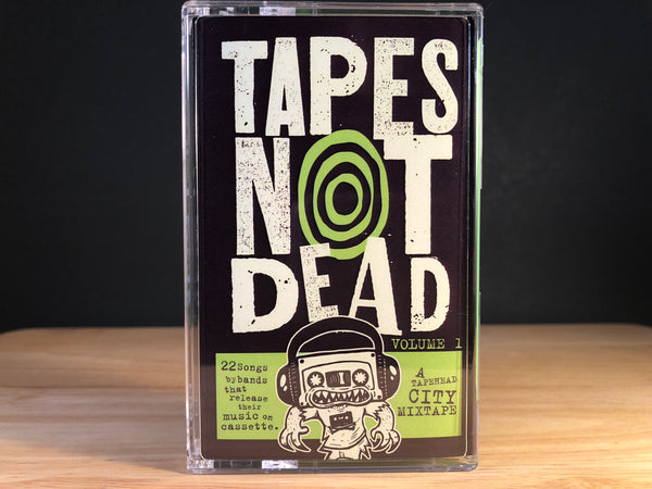 TAPES NOT DEAD : A TAPEHEAD CITY MIXTAPE - Vol.1 - CSD2018 (includes comic)