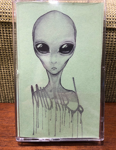 MID-AIR! - alien speak - BRAND NEW CASSETTE TAPE