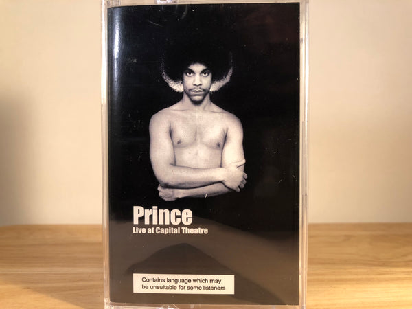 PRINCE - live at the capital theatre - BRAND NEW CASSETTE TAPE funk