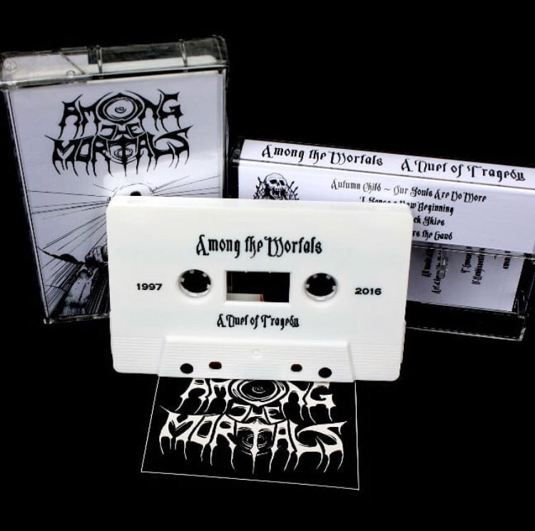 AMONG THE MORTALS - a duet of tragedy - BRAND NEW CASSETTE TAPE