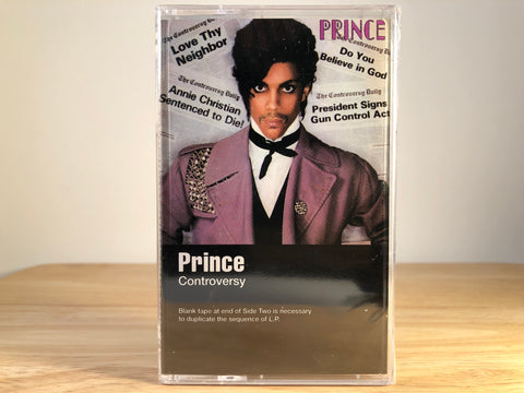 PRINCE - controversy - BRAND NEW CASSETTE TAPE