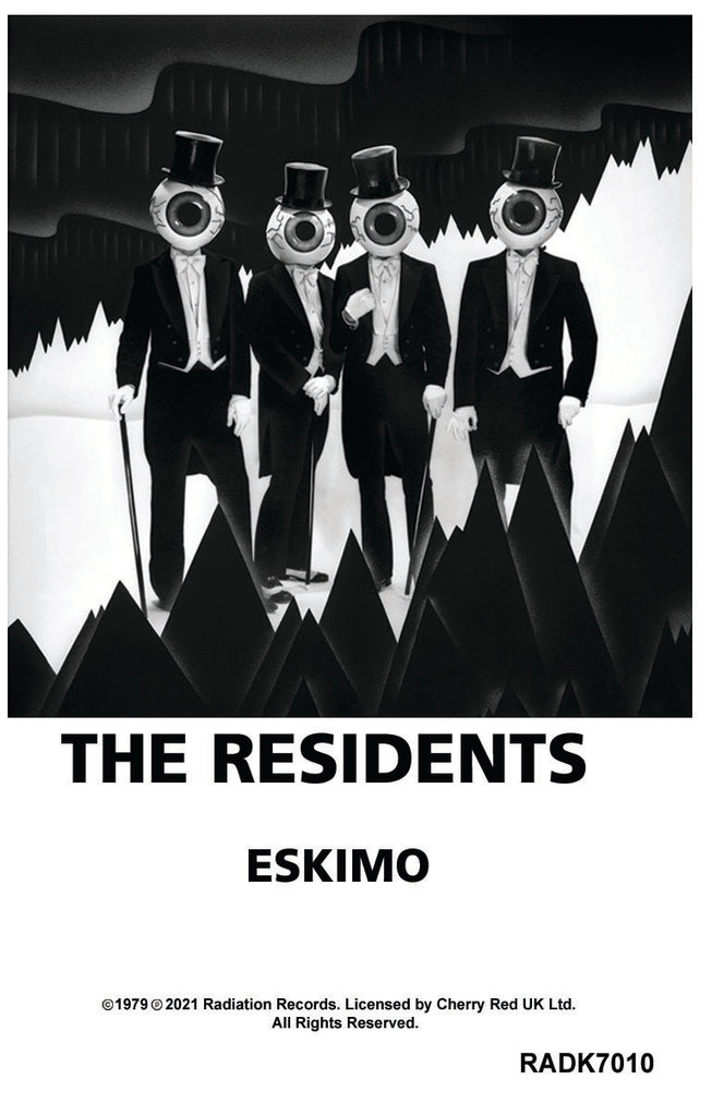 THE RESIDENTS - Eskimo - BRAND NEW CASSETTE TAPE [pre-order]