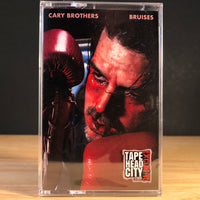 CARY BROTHERS - bruises - CASSETTE TAPE (tapehead city exclusive) [low stock]