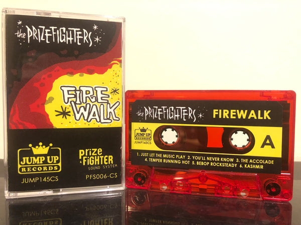 THE PRIZEFIGHTERS - firewalk - BRAND NEW CASSETTE TAPE